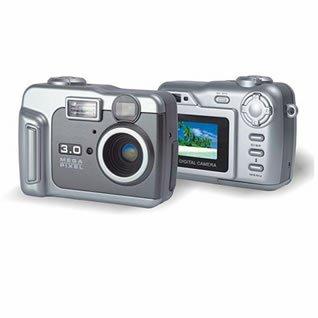 2.0M CMOS sensor interpolated to 3.0M digital camera ( TDC-206AS ), Digital Cameras, Electronics