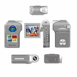 3.0M CMOS sensor interpolated to 10.0Mega digital camcorder ( TDV-393B ), Camcorders