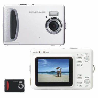 "5.0 Mega Pixels Digital Camera with 2.0""LCD (TDC-5502B), Digital Cameras, Electronics"