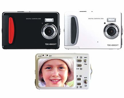 "5.0 Mega Pixels Digital Camera with 2.0""LCD (TDC-5502XT), Digital Cameras, Electronics"