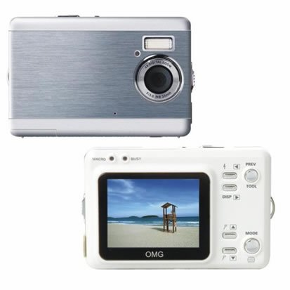 "6.6Mega Pixels Digital Camera with 2.0""LCD (TDC-3502C), Digital Cameras, Electronics,"
