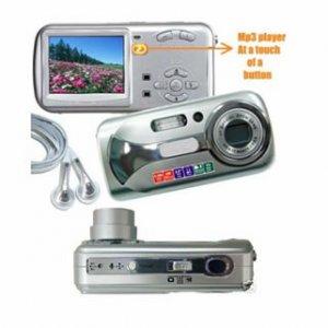 8.0Mega Pixels CCD Sensor Digital Camera (DC-820), Digital Cameras, Electronics