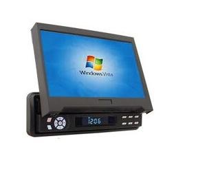 "7"" Car LCD Car Monitor With Touch Screen Panel and TV"