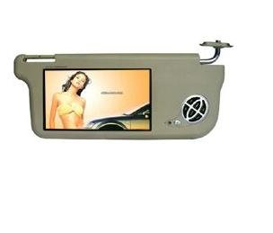"7"" Headrest TFT-LCD Car DVD Monitor with Pillow and DV/ AV/ FM/ USB/ SD/ MMC outside memory system"