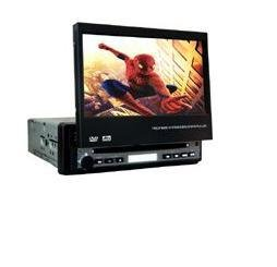 "Touch Screen 1-DIN 7"" Color TFT LCD and Car DVD Player"