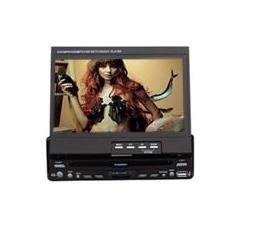 Touch Screen One-Din 7-inch TFT LCD and Car DVD Player with DVD/ VCD/ CD/ CD-R/RW/ MP3/ MP4