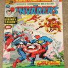 Invaders # 6 1976 Captain America Sub-Mariner Nice FN Copy!
