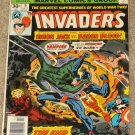 Invaders # 9 1976 Union Jack vs Baron Blood! Nice VG/FN Copy!