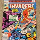 Invaders # 27 1976 Captain America Sub-Mariner Nice FN- Copy!