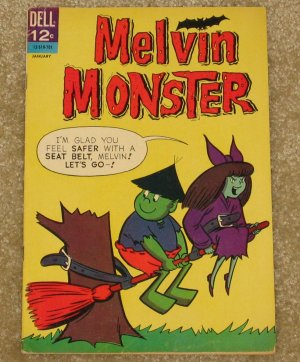 Melvin Monster # 6 1967 John Stanley Nice VG/FN Copy!