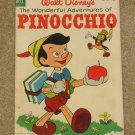 Walt Disney&#39;s Pinocchio (Four Color) # 545 1954 Nice VG+ Copy!