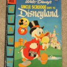 Walt Disney's Uncle Scrooge goes to Disneyland # 1 Dell Giant 1957 Carl Barks art Nice VG+ Copy!