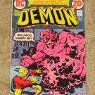 Demon # 10 Jack Kirby 1973 nice VG copy L@@K!!!