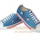 09 DSQUARED² D2 mans shoes,blue,Eur size 41,43 /1193
