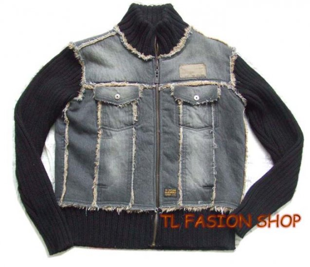 New arrival 08 G-Star raw mans Denim Combat winter jacket/coat