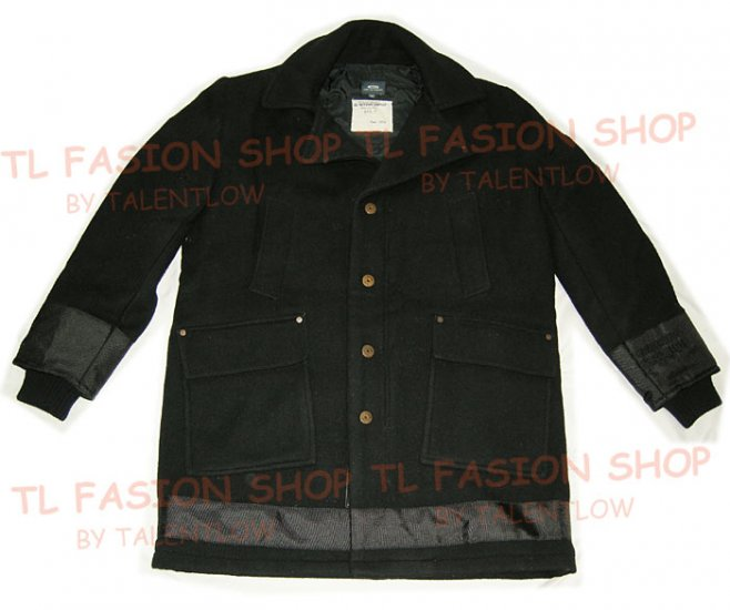 New G-Star raw mans wool long Military winter jacket/coat