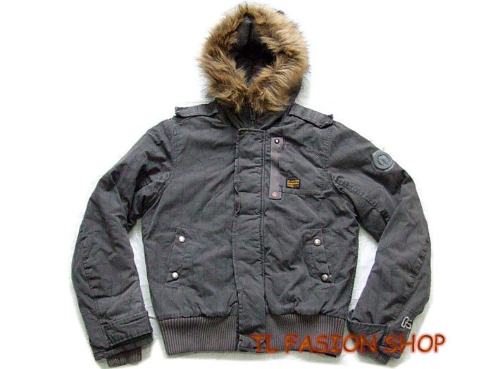 New arrival  G-Star raw mans Bomber hooded winter jacket/coat,color gray, #0705