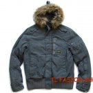 New arrival G-Star raw mans Polai Combat winter jacket/coat color Gray,#:0706
