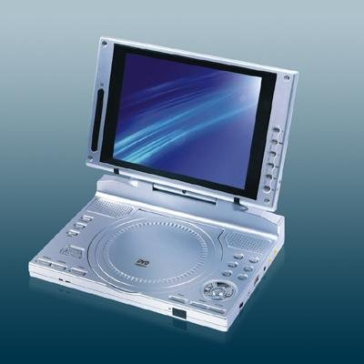8-inch LCD DVD/ SVCD/ VCD/ CD/ MP3/ MP4 Player, TV Receiver Game
