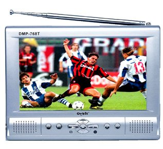 MP4/DIVX Player 40GB HDD, 7inch LCD Screen 480x234xRGB, TV