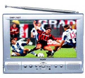 MP4/DIVX Player 40GB HDD, 7inch LCD Screen 480x234xRGB, TV