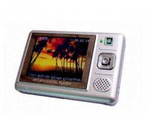 MP4 Player 512MB, SD/MMC card reader 2.5 inch Screen