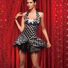 Burlesque Corset with Skirt