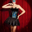 Burlesque Corset Fancy Dress