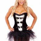 Black Feather Burlesque Corset