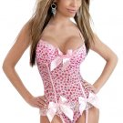 Pink Sweetheart Corset with Matching G-string