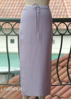 Silk-linen Skirt