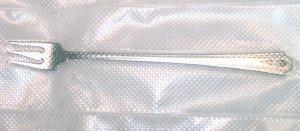 Charmion (Silverplate, 1933) Oneida/Heirloom Cocktail Fork