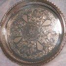 Oneida Silver Butler Tray, Lavishly Decorated (Monogrammed)