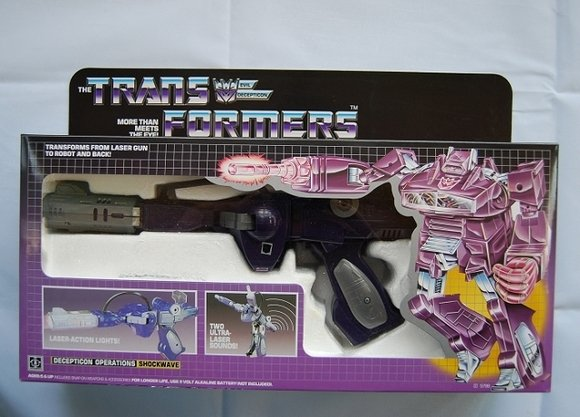 Transformers G1 Shockwave Reissue KO Brand New A