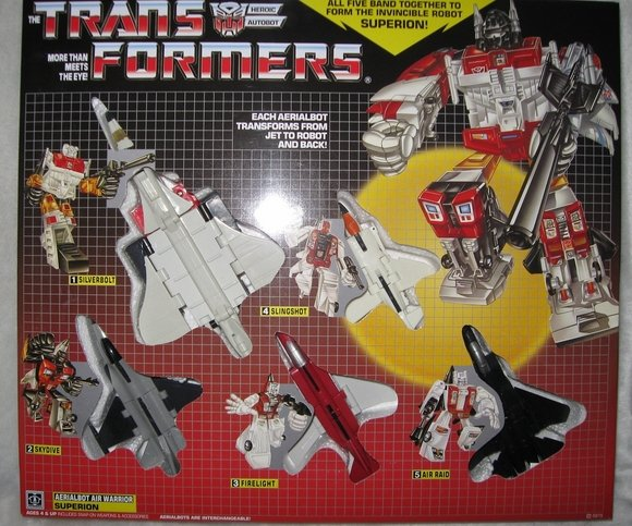 Transformers G1 SUPERION Reissue KO Brand New C
