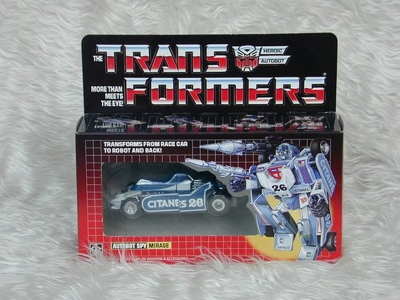 Transformers G1 Mirage Reissue KO Brand New I