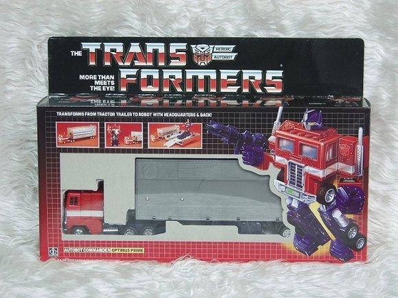 Transformers G1 OPTIMUS PRIME Reissue KO Brand New L