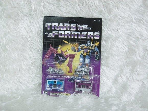 Transformers G1 RATBAT & FRENZY Reissue KO V