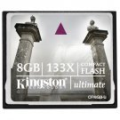 Kingston Ultimate 8 GB 133x CompactFlash Memory Card CF/8GB-U