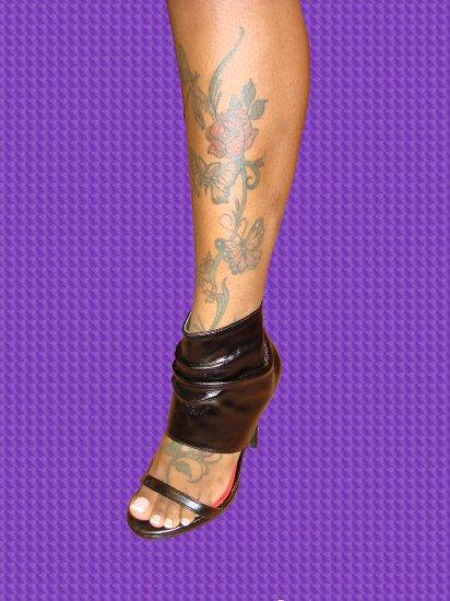 Sexy Open Toe Boot Heel size  8 1/2