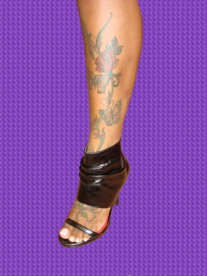 Sexy Open Toe Boot Heel size  6 1/2