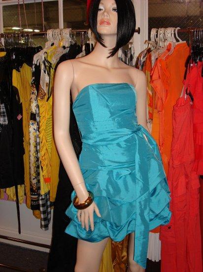 Classy Aqua Blue TuTu Dress Size M 6 - 8