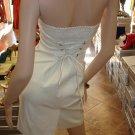 Sexy White Mini Clubbing Dress  M