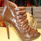 Stylish Brown Heel 7 1/2