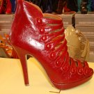 Stylish Red Heel  6 1/2