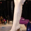 Sexy Over the Knee Boot White 7 1/2