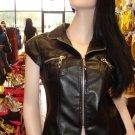Black Crop Jacket  L