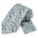 Powder Blue Classic Paisley Tie and Pocket Square Set