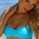 S *HOT Brazilian Bandeau Bikini* Aqua Beach Swimsuit Cute As A Bunny Vix-en Swimwear