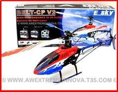 E-SKY BELT CP V2 ARF RC Helicopter KIT (Latest!)